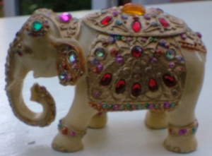 Jewelled elephant
