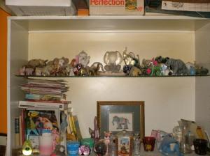 Elephant shelves