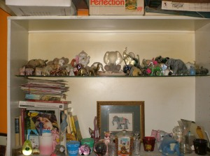 Elephant shelves