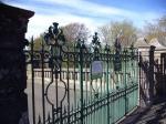 Saughton Park gates