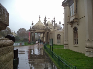 Brighton in the rain