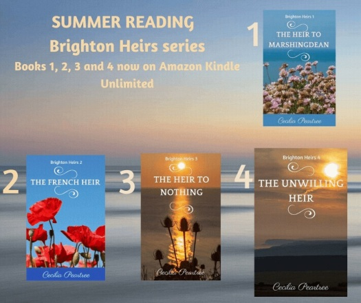 Light summer reading from Cecilia Peartree in Smashwords summer sale!